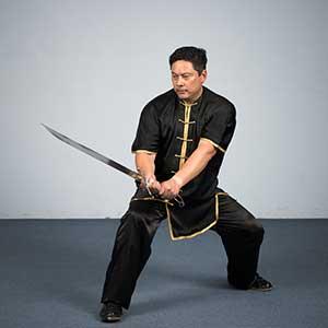 Kung fu Master Richard Tsui-Po southern broadsword