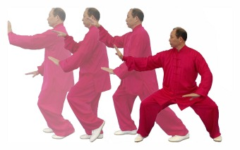 Tai chi masters at golden lion
