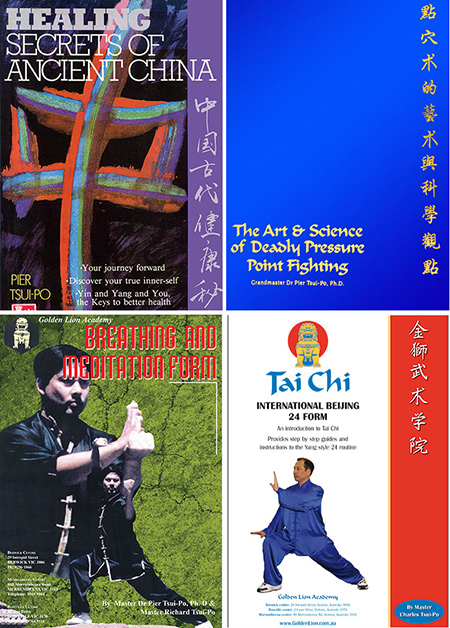 kung fu tai chi training manuals
