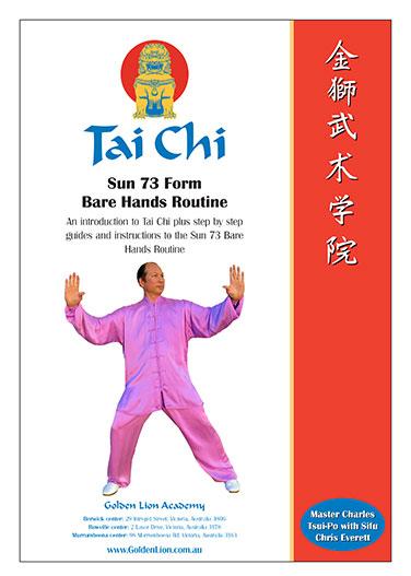 Tai Chi Sun Style 73 Form Workbook
