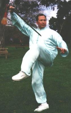 Tai Chi Sword Charles Tsui-Po